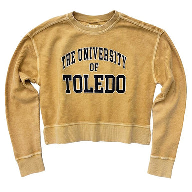 The University of Toledo Corded Cropped Crew - Jupmode