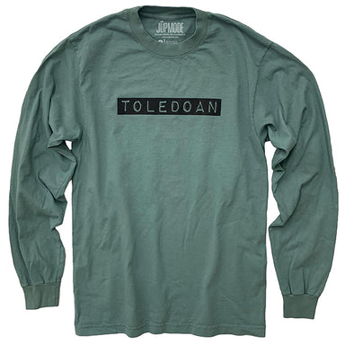 Toledoan Garment Dyed Long Sleeve Shirt - Jupmode