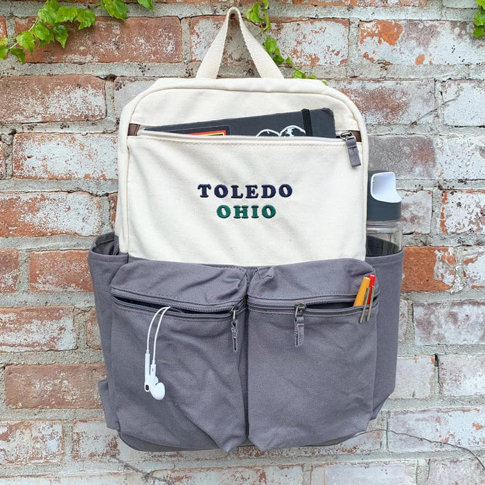Toledo Ohio Backpack - Jupmode