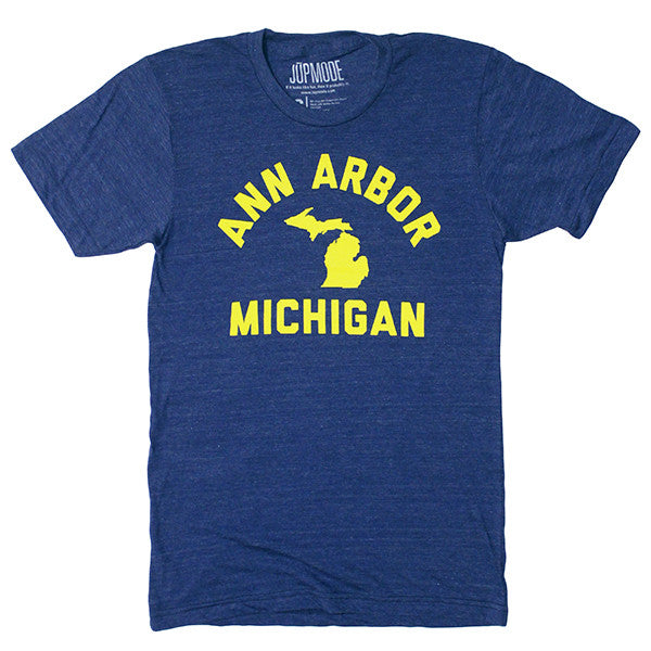 Ann Arbor, Michigan Shirt - Jupmode