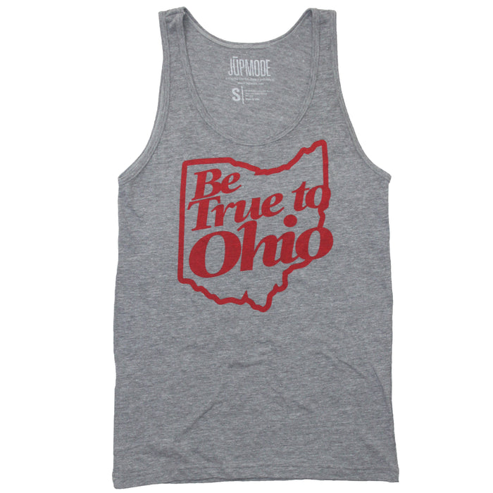 Be True to Ohio Tank Top - Jupmode