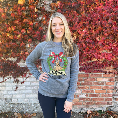 Maumee Bay Brewing Blitzen Holiday Ale Crew Sweatshirt