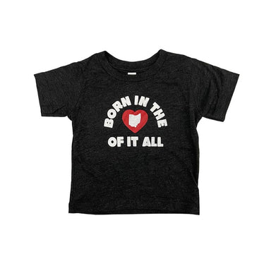 Born in the Heart of It All Toddler Shirt