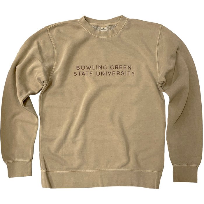 Bowling Green State University Embroidered Sweatshirt