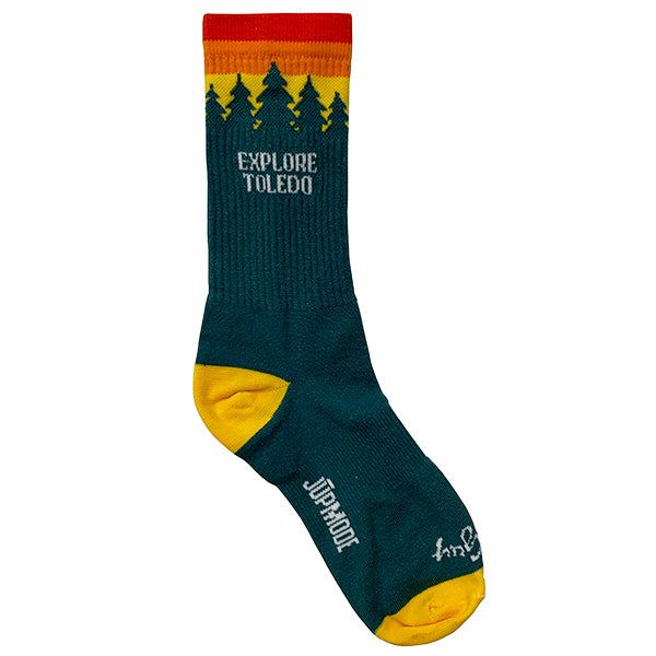 Explore Toledo Socks