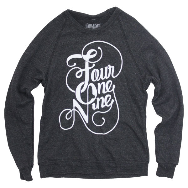 Fancy Four One Nine Crew Sweatshirt - Jupmode