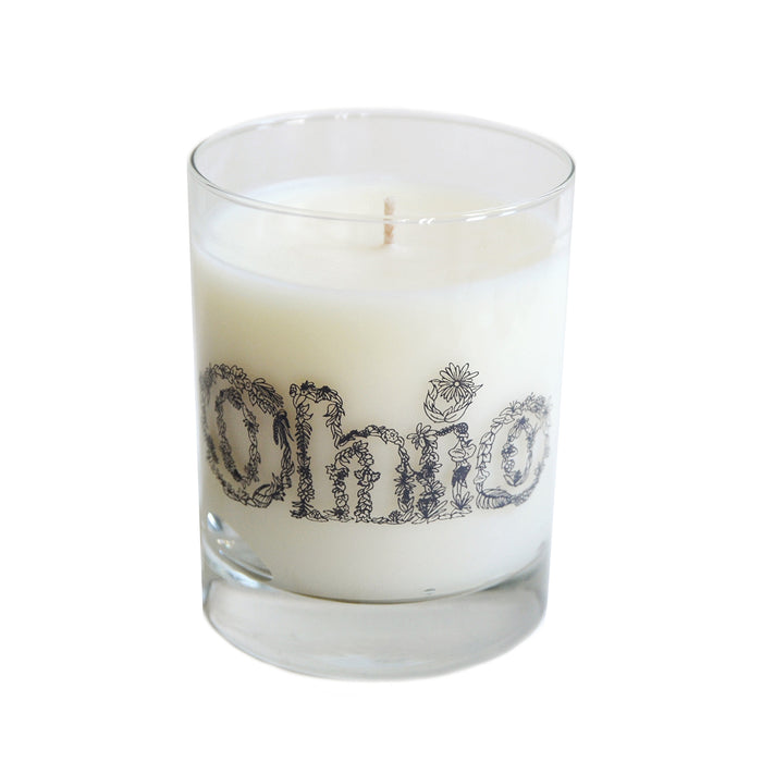 Floral Ohio Soy Candle