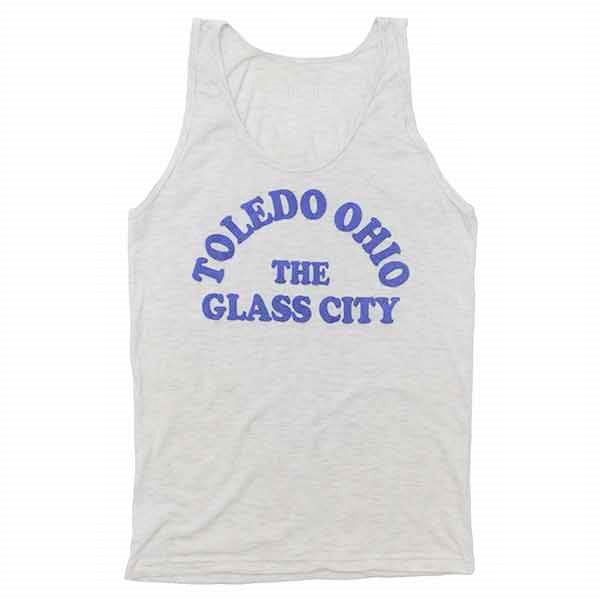 Toledo, Ohio The Glass City Tank Top