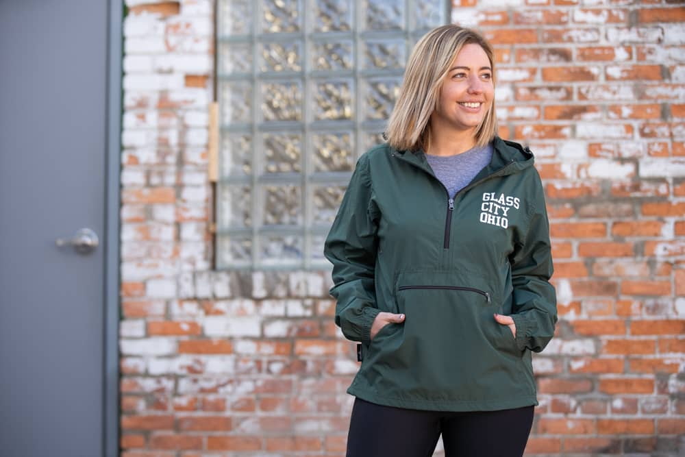 Glass City Ohio Pack-N-Go Windbreaker