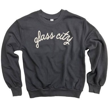 Glass City Women's Terry Crew Sweatshirt