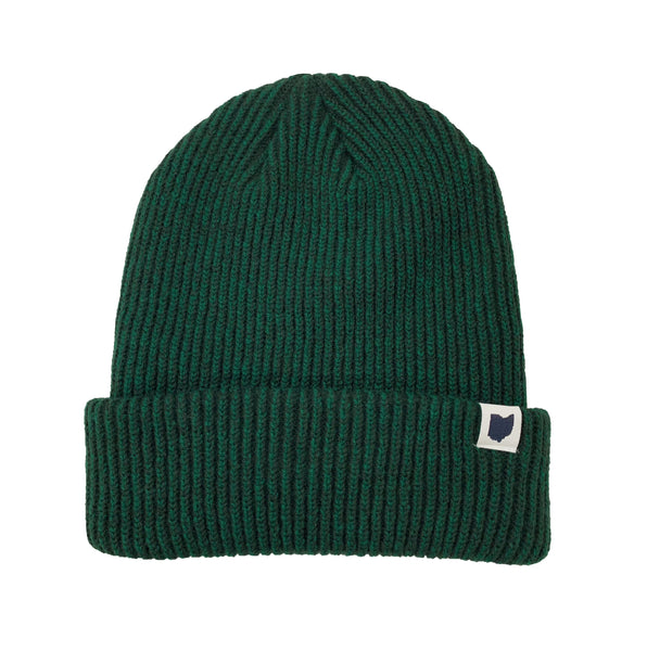 Green Ohio Cozy Beanie
