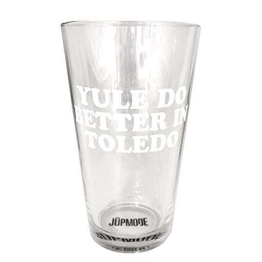 Yule Do Better in Toledo Pint Glass - Jupmode