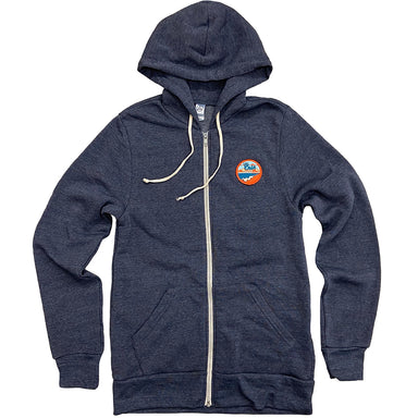 Lake Erie Patch Zip Up Hoodie