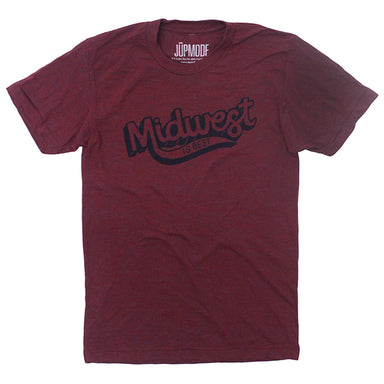 Midwest is Best Maroon Shirt - Jupmode