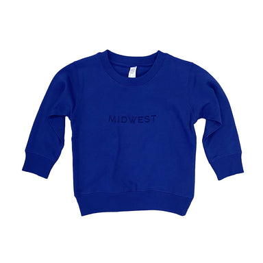 Midwest Embroidered Youth Sweatshirt