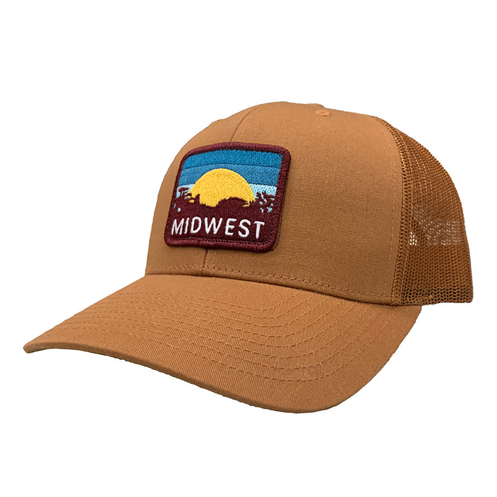 Midwest Sunset Patch Hat