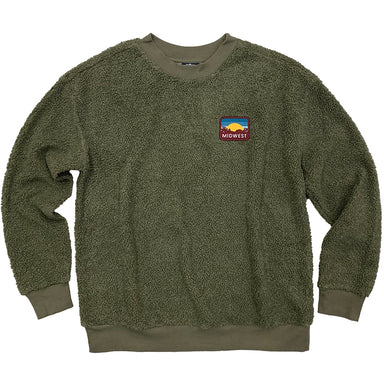 Midwest Sunset Patch Sherpa Sweatshirt