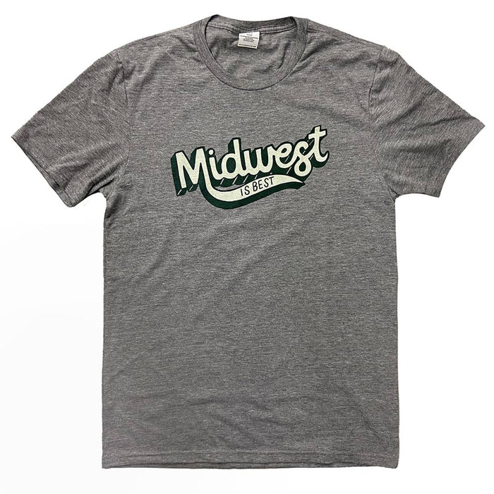 Midwest is Best Gray Shirt