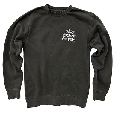 Ohio Forever and Ever Pigment Dyed Sweatshirt - Jupmode