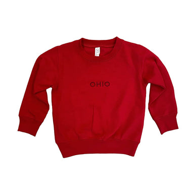 Ohio Embroidered Youth Sweatshirt