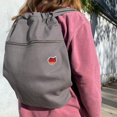 Ohio Sunset Patch Drawstring Backpack