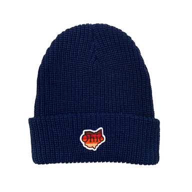 Ohio Sunset Patch Beanie