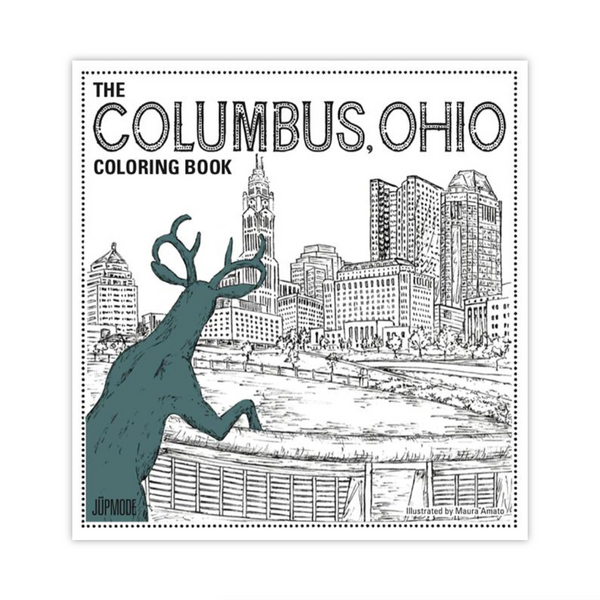 The Columbus, Ohio Coloring Book