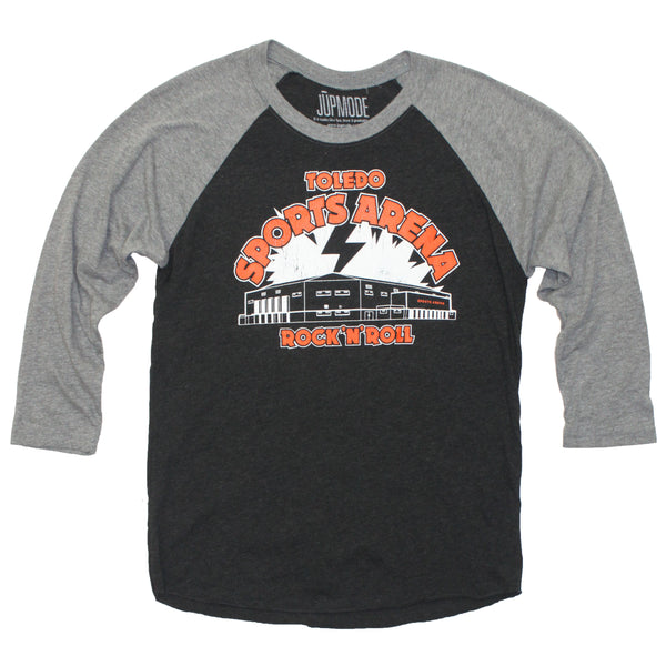 Toledo Sports Arena Rock 'N' Roll Raglan