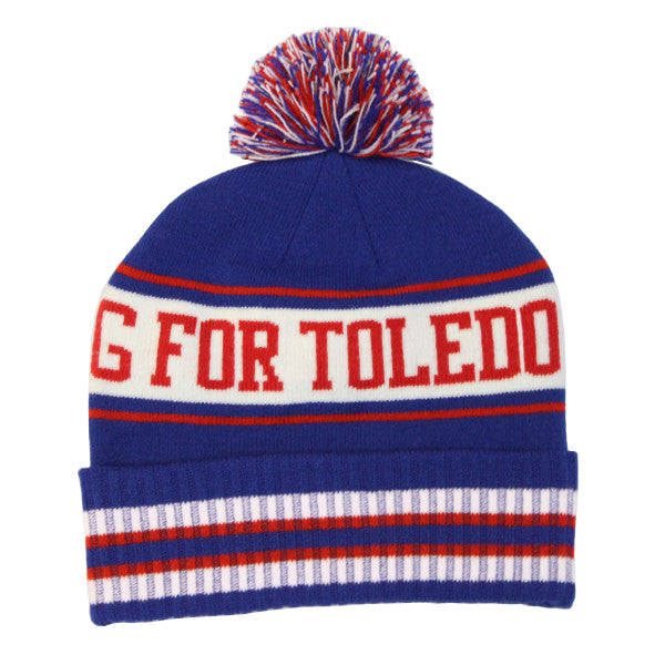 We're Strong For Toledo Winter Hat - Jupmode