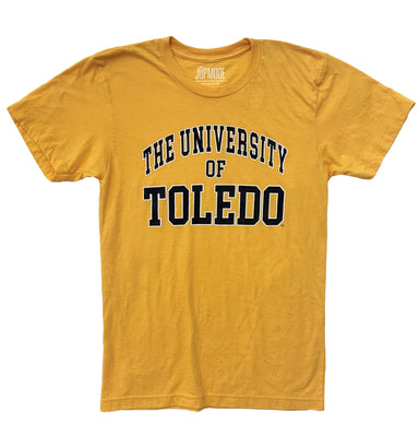 University of Toledo Gold Shirt - Jupmode