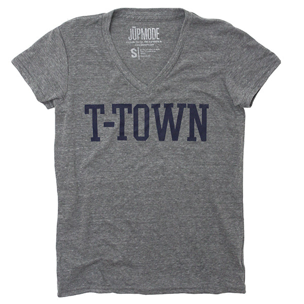 T-Town Women's V-neck Shirt - Jupmode
