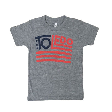 Toledo American Flag Youth Shirt - Jupmode