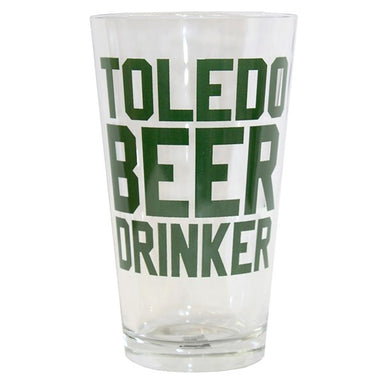 Toledo Beer Drinker Pint Glass