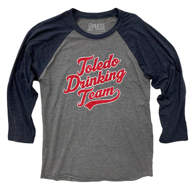 Toledo Drinking Team Baseball Raglan