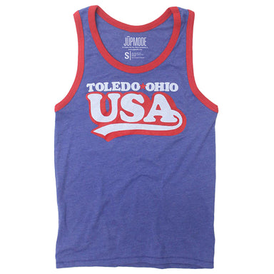 Toledo Ohio USA Tank Top - Jupmode