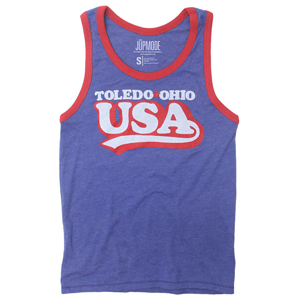 Toledo Ohio USA Tank Top