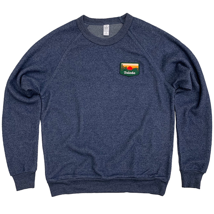 Toledo Sunset Patch Teddy Sweatshirt