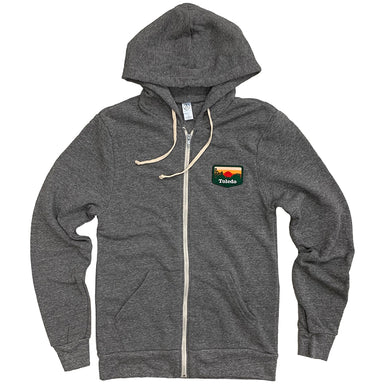 Toledo Sunset Patch Zip Up Hoodie