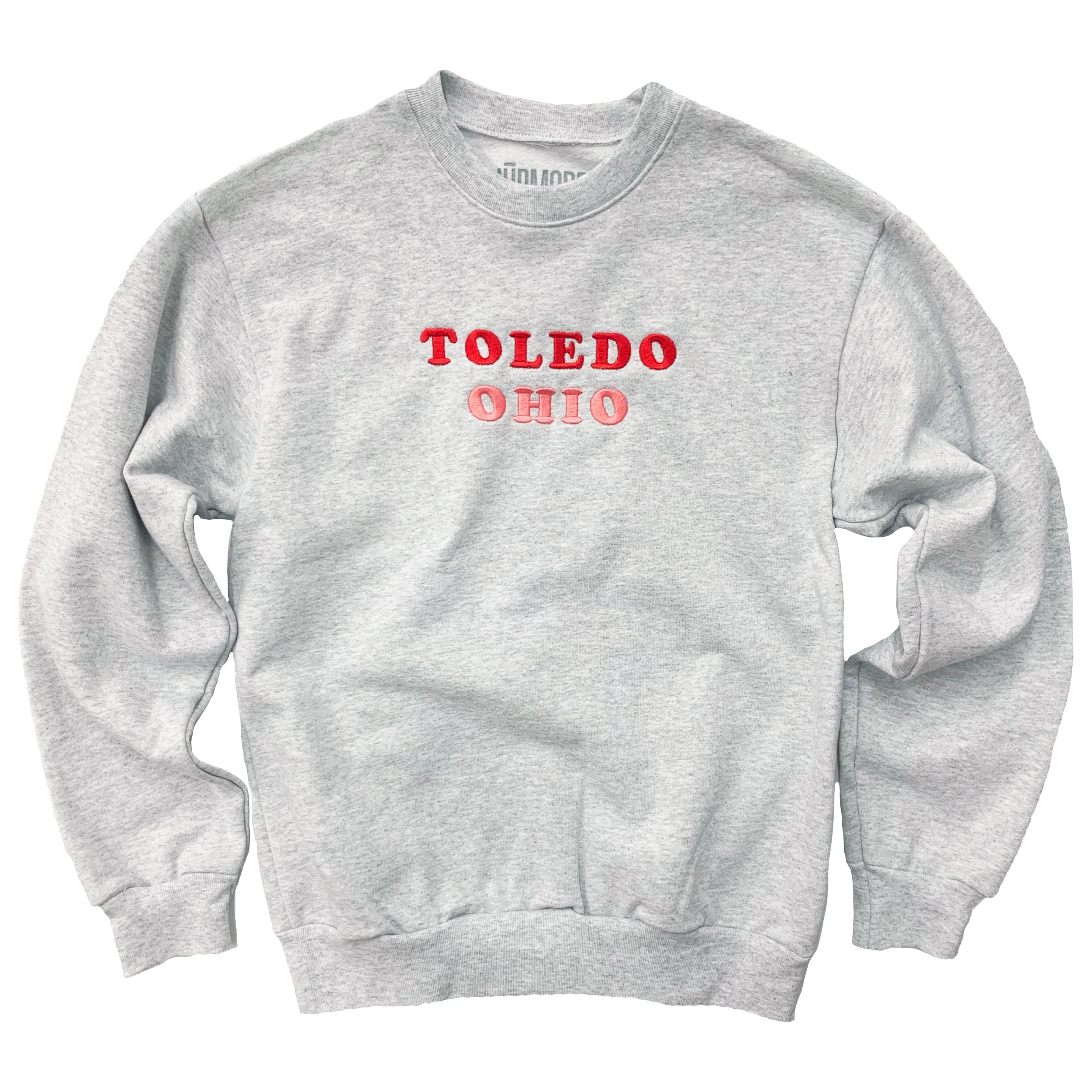 Toledo Ohio Embroidered Heavy Sweatshirt