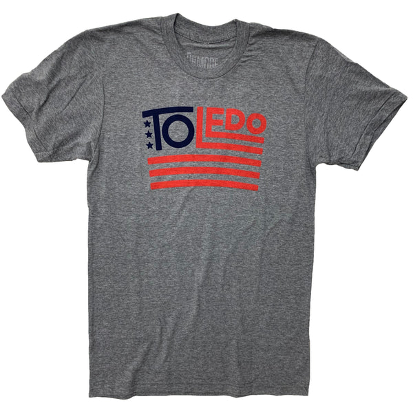 a2cc9136 Toledo USA Flag Shirt