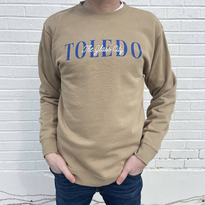 Toledo The Glass City Sweatshirt