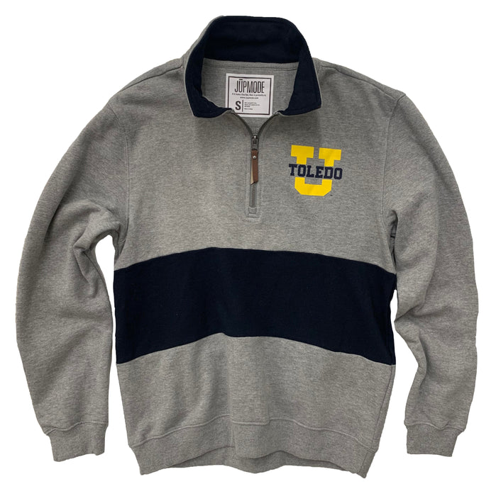 Toledo Rockets Color Block Quarter Zip - Jupmode