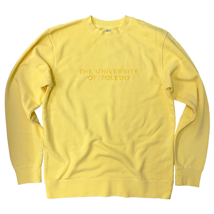 The University of Toledo Embroidered Sweatshirt