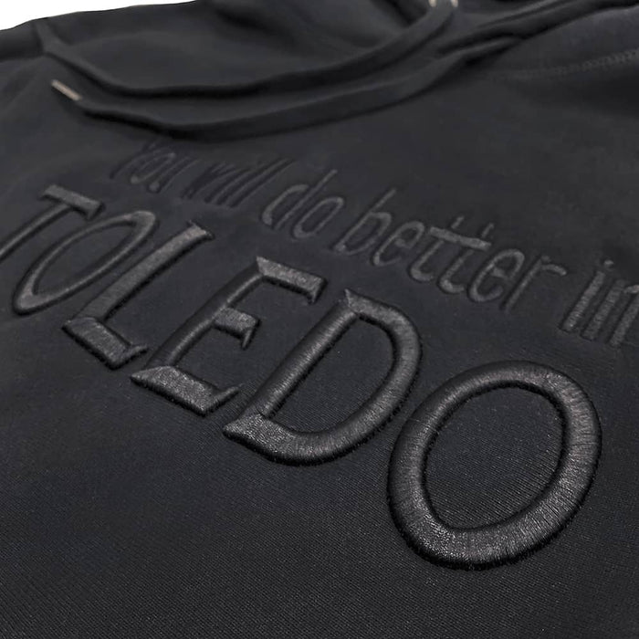 You Will Do Better in Toledo Puff Embroidered Hoodie