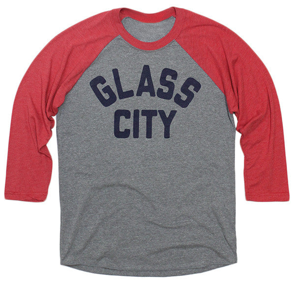 Glass City Baseball Raglan - Jupmode