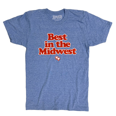 Best in the Midwest Light Blue Shirt - Jupmode