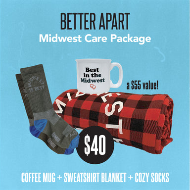 Better Apart Midwest Care Package - Jupmode