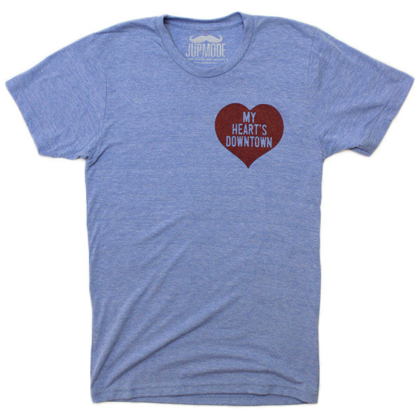 My Heart's Downtown Shirt