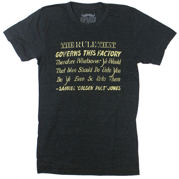 "Samuel ""Golden Rule"" Jones Shirt"