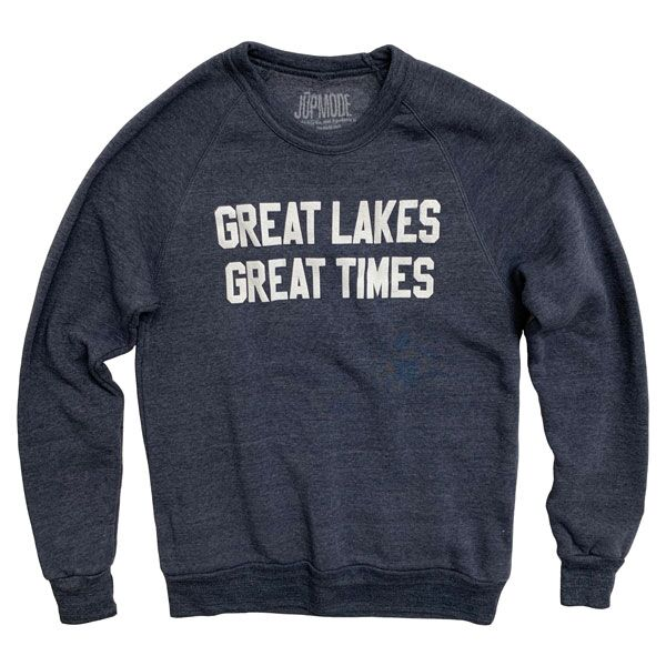 Great Lakes Great Times Crew Sweatshirt